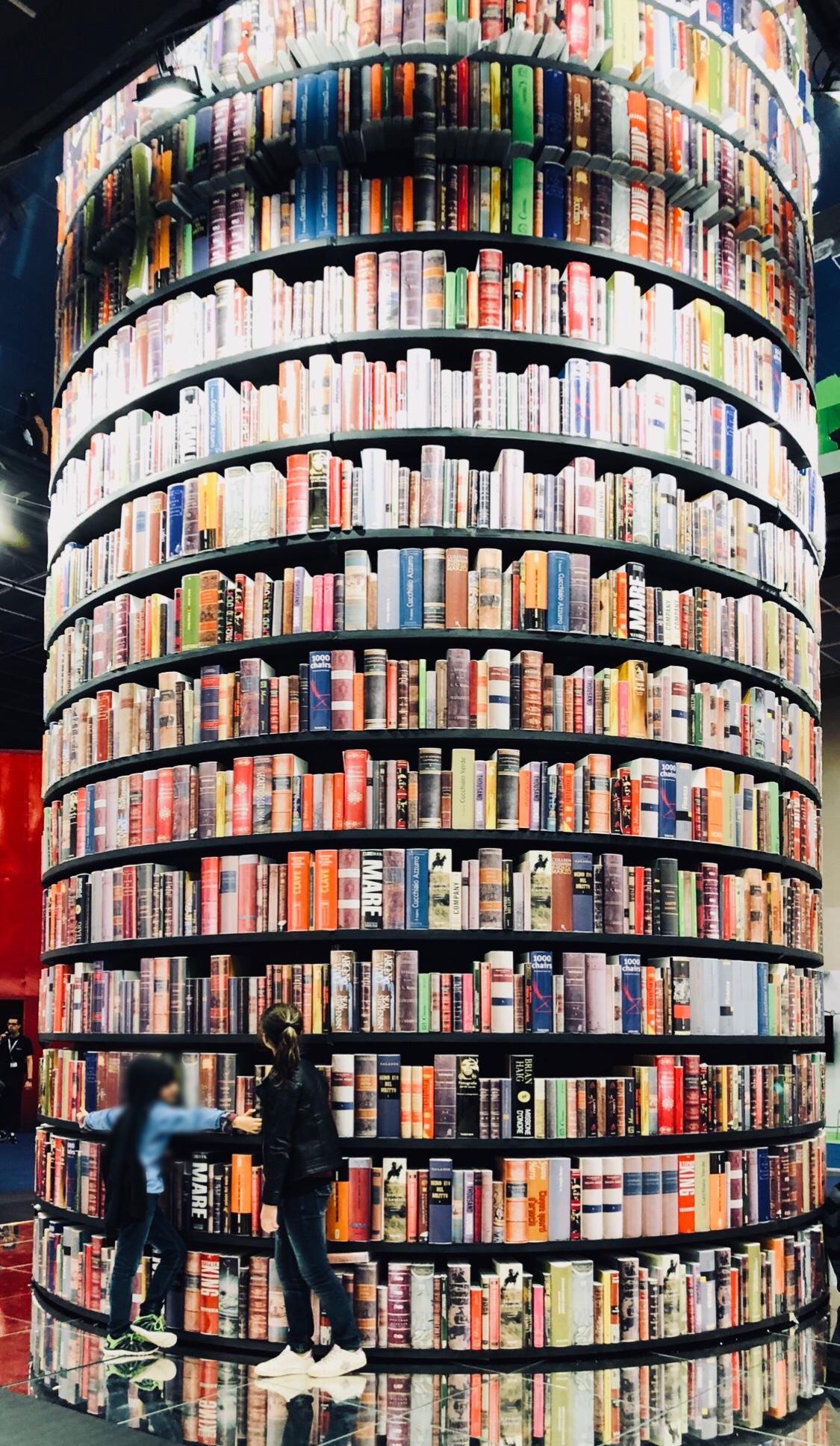 SalTO18 torre libri